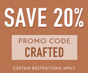 Save with promo code CRAFTED